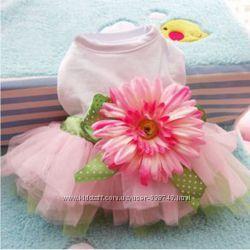 Орхидея Супер платье для собак котов одежда