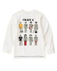 Регланы для мальчиков Crazy8 , 5-12 лет