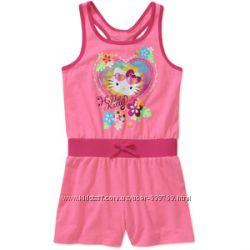 Яркие ромперы Hello Kitty  для ваших девочек