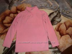 Розовый гольфик на девочку
