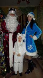 костюм белого мишки