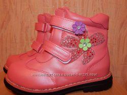 Ботиночки весенние для девочки 26-31 размеры