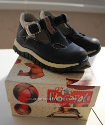 Туфли, босоножки, сандалии, ботиночки, синие, кожа, Италия Tutti GIOCATTOLI