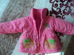куртка, пальто для девочки до 2 лет.