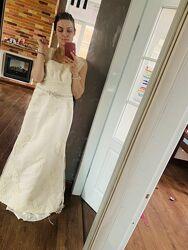 Свадебное платье размер 44, S