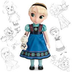 Малышка Эльза Аниматор Frozen Anna Collection Doll Disney Animators
