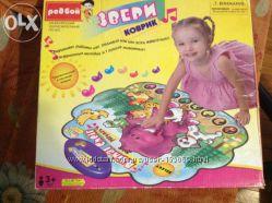 Пластиковый игровой коврик Редбой Звери на вечеринке