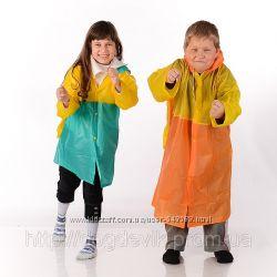 Скоро в школу - дождевик с местом под ранец