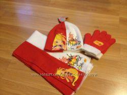 Шапки и рукавички на девочку