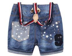 Крутые шорты с подтяжками MCam Kids