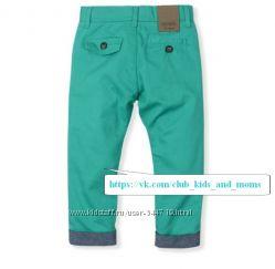 Яркие стильные бирюзовые брюки Guess