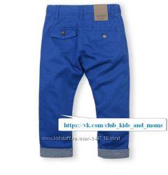 Яркие стильные синие брюки Guess