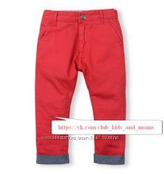 Яркие стильные красные брюки Guess
