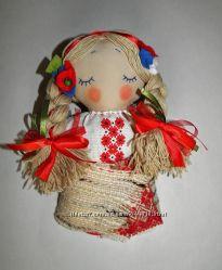 Куклы - ангелы в украинском стиле