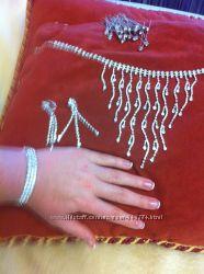Продам комплект украшений. Колье, серьги, браслет украшение для волос.