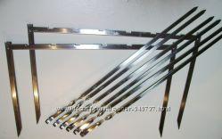 Барбекю набор мини мангал раскладной и 6 шампуров в чехле Стенсон 0158