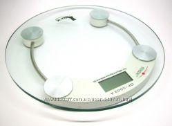 Надежные электронные весы до 180кг стекло