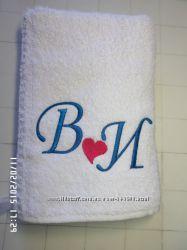 подарки на день Валентина полотенце