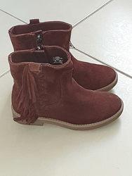 Продам замшеві черевички zara 29 розмір