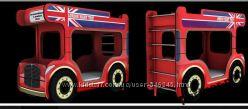 Двухярусная Детская кроватка Лондонский Автобус