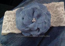 Повязка из джинса