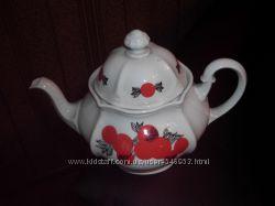 Заварной или для кипятка чайник, фарфор, Чехословакия