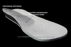 Ортопедические стельки для вальгусных стоп ВП-2, Ортофут