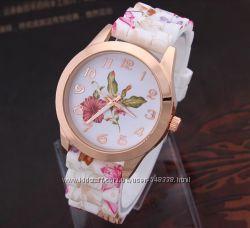 Часы женские GENEVA Flower Очень красивые