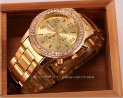Часы женские GENEVA Swarowski 3 цвета