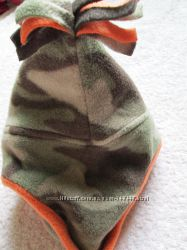 Теплая шапка дорогой фирмы baby GAP 12-24 мес. и флис на 4-6лет-ОГ-55-56 см