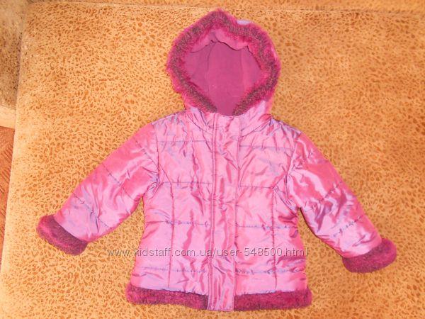 Курточка - хамилион, фиолетовая для девочек, маленький сюрприз
