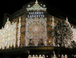 Galeries Lafayette старинный Парижский универмаг. Распродажа. Мега скидки