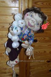 Интерьерная кукла домовой