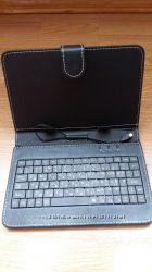 Функциональный чехол клавиатура для планшета 7 black