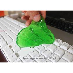 Универсальный чистящий клей для клавиатуры
