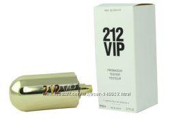 Carolina Herrera 212 VIP edp 80 ml w  Тестер