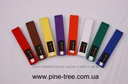 Пояс для единоборств цветной Pine Tree