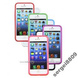 Apple iPhone 5, 5S бампер. Яркие цвета
