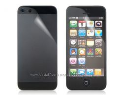 Защитная пленка на iPhone 5 передняя и задняя