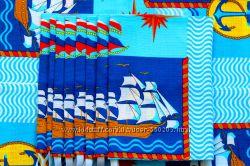полотенца для детей, кораблики