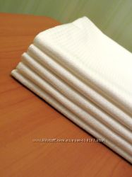 Полотенца белые  45см х 70см  вафельные плотные