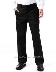 Школьные брюки M&S с шерстью черные