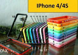 Чехол бампера футляры и книжки для Iphone 4 4S 5 5S 6 6