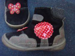 Ботинки осенне-весенние для девочки 21 размер