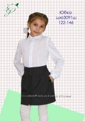 Школьные юбочки и жилетки на девочку
