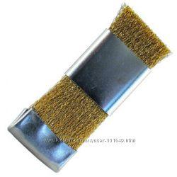 Щетка ручная бронзовая для чистки твердосплавных фрез