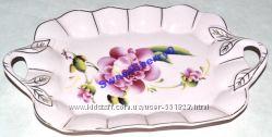 Блюдо TANGEN нежно-розовое керамика