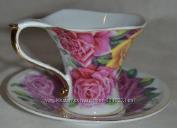 Чайный набор Чайная пара Чашка и блюдце Подарочная упаковка