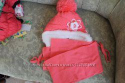 шапка зиняя новая 3-5 лет очень красивая, купили и прогадали с размером