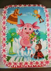 Картинки на сахарной бумаге для тортов